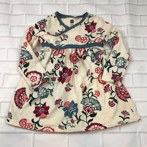 Tea Long sleeve floral Dress